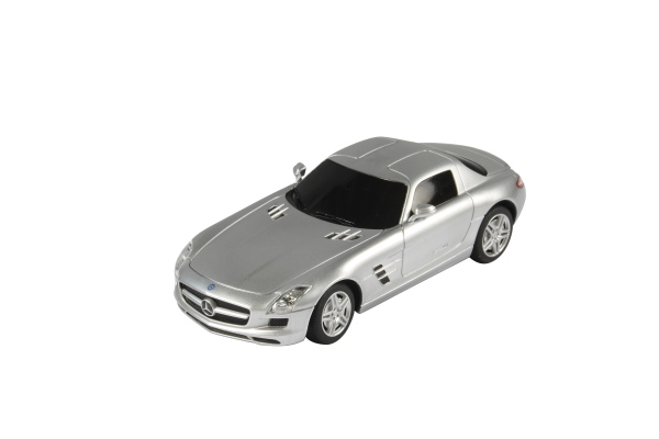 RC model JAMARA Mercedes SLS 1:24 stříbrná