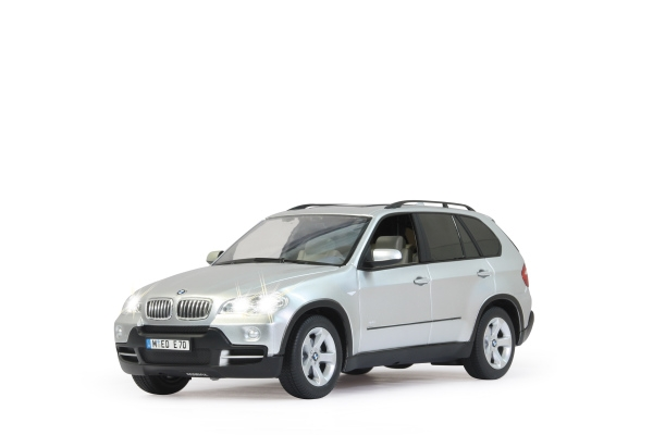 RC model JAMARA BMW X5 1:14 stříbrná